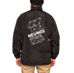 Image of Cassette Diagram Graphic Jacket