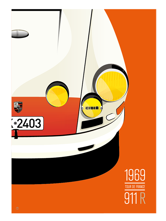 Image of Affiche 911R 1967