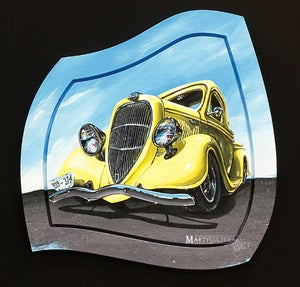 Image of 35 Ford Pickup Original Painting