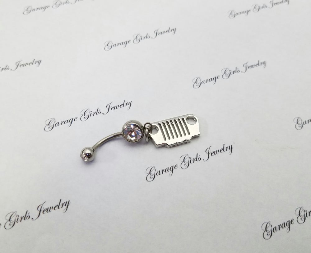 Image of Jeep Grill  Belly Rings
