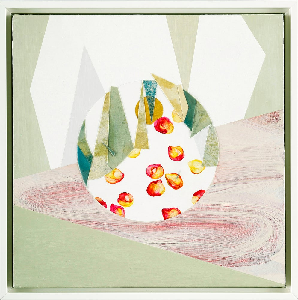 Image of Pebble Series: Painting #6_ Rolling
