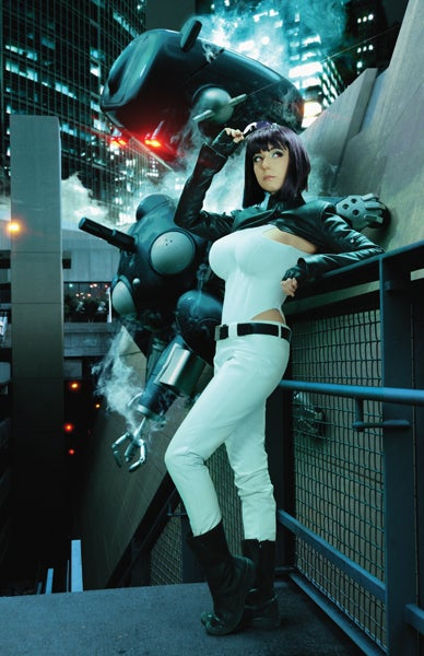 Image of Ghost in the shell 11x17