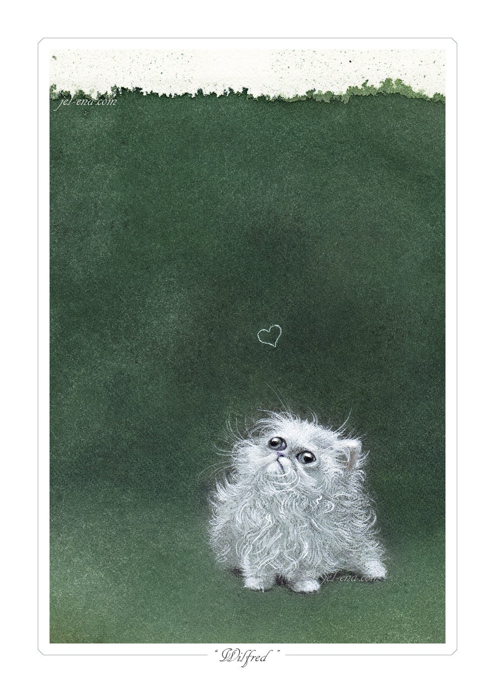 """Image of """"Wilfred"""" Limited Edition Print"""
