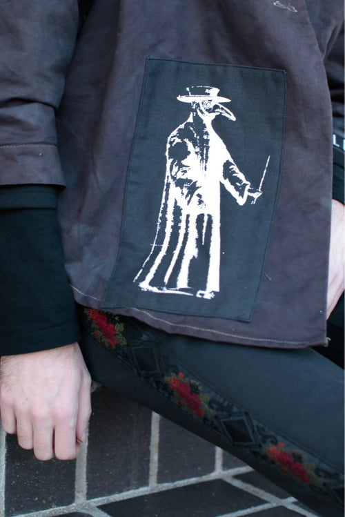 Image of 005-Plague Doctor Coat