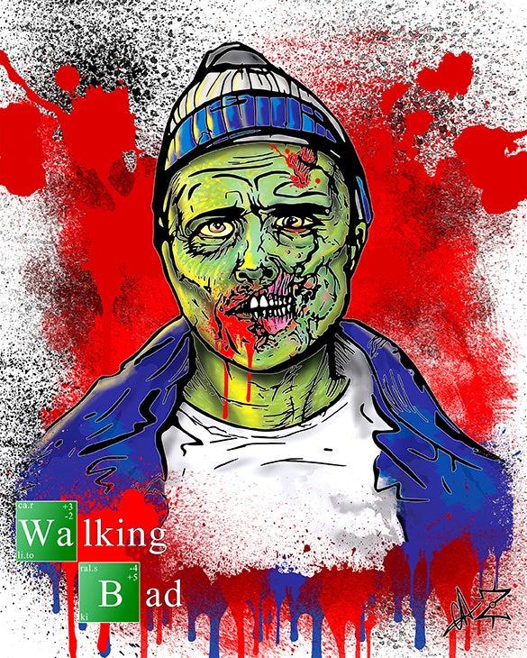 """Image of 8"""" x 10"""" Walking Bad Series - Digital Prints"""