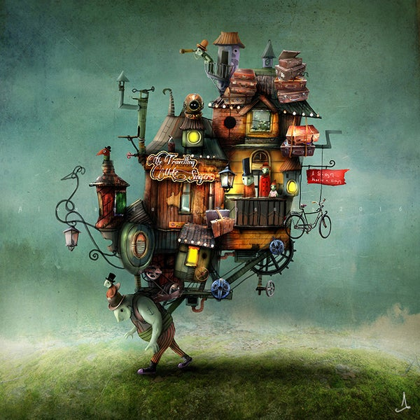 """The Travelling Mute Singers"" - Alexander Jansson Shop"