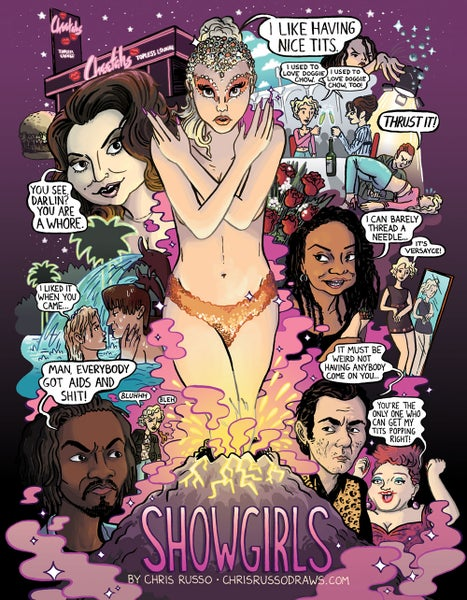"Image of ""Showgirls"" Poster"