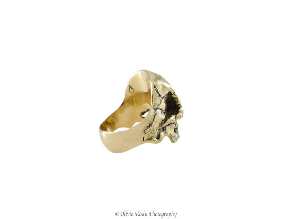 Image of Skull ring - 18k