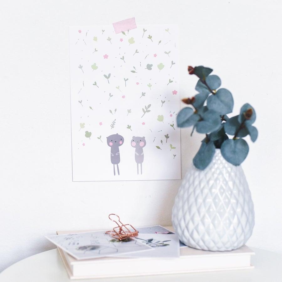 Image of Spring sprinkles print