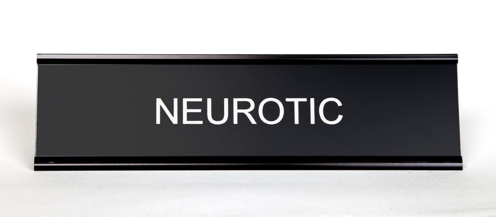 Image of Neurotic Nameplate