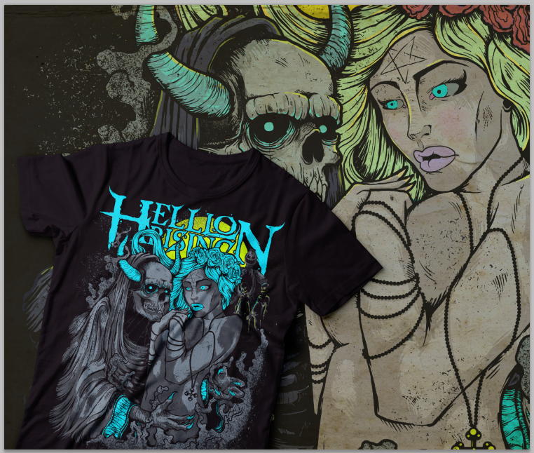 """Image of """"Kill 'Em/Cure 'Em"""" Package: Signed CD + T Shirt + Badges + Stickers + FREE Signed Photo"""