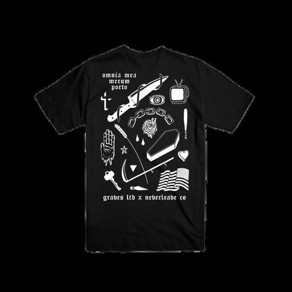 Image of Wisdom T-Shirt (Neverleave Co X Graves Ltd)