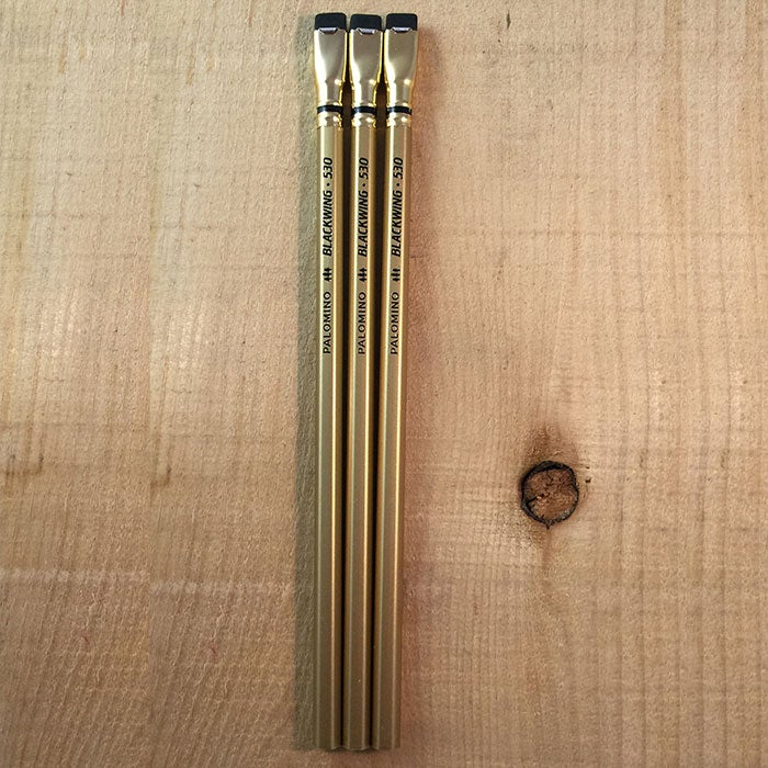 Image of Limited Edition Palomino Blackwing 530 Three Pack
