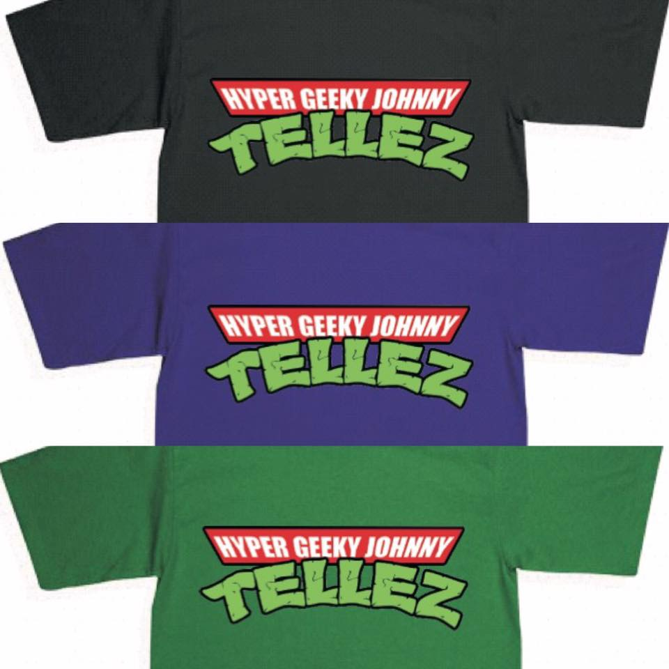 Image of Hyper Geeky Johnny Tellez T Shirt
