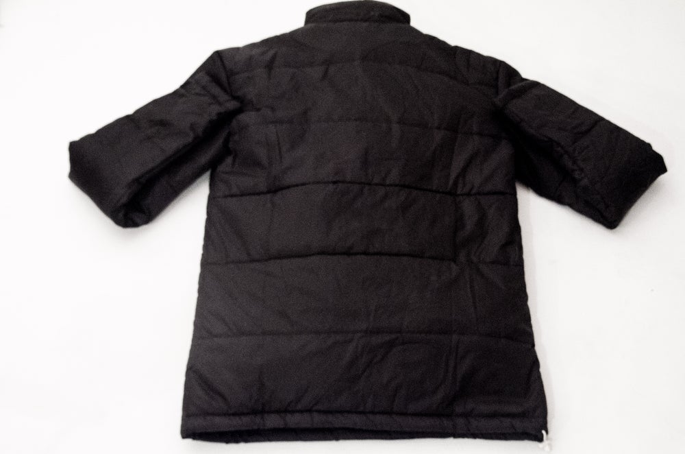 Image of Black Puffer Anorak