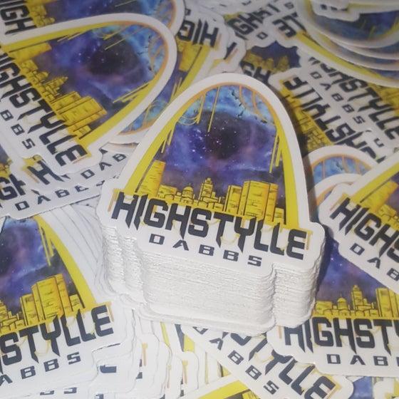 Image of HighstylleDabbs Die Cut Stickers