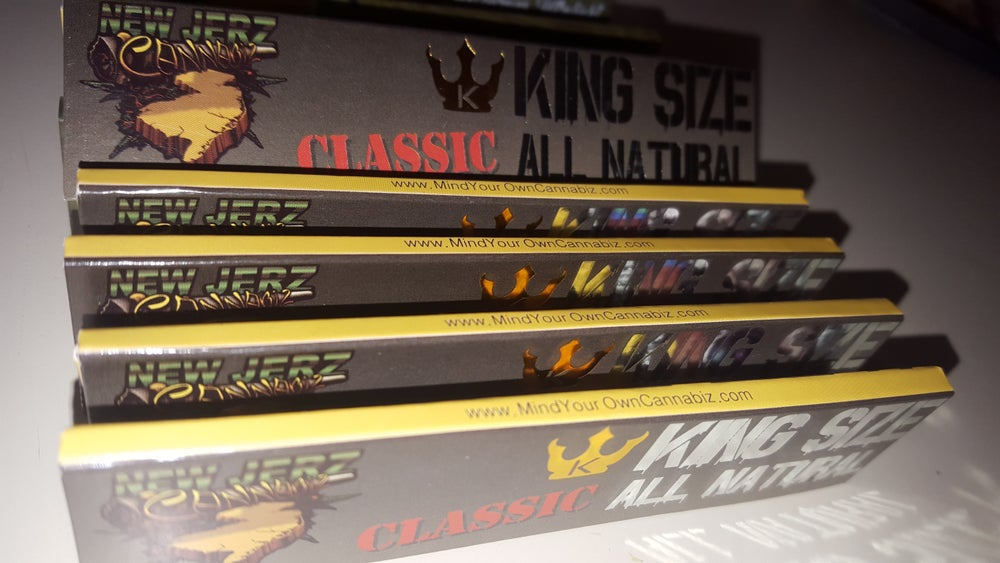 Image of King Size All Natural Unrefined Rolling Papers