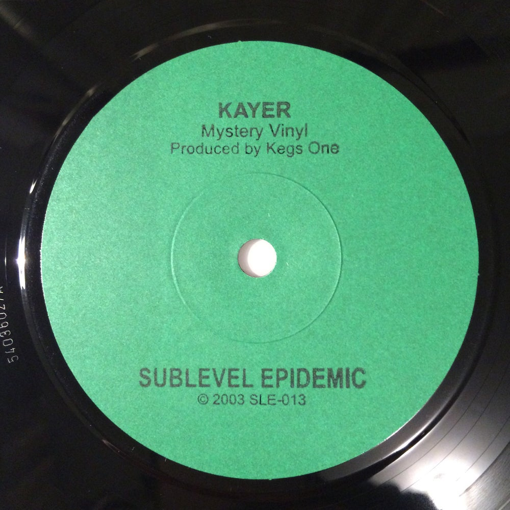 """Image of Kayer/Kegs One 7"""""""