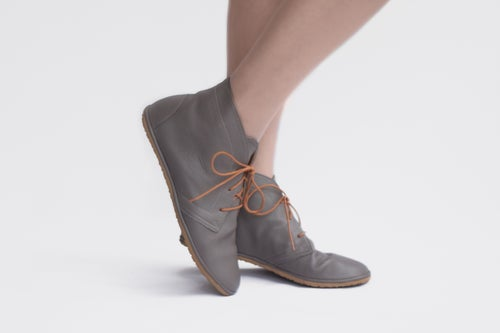 Image of Desert boots - Leona in Grey