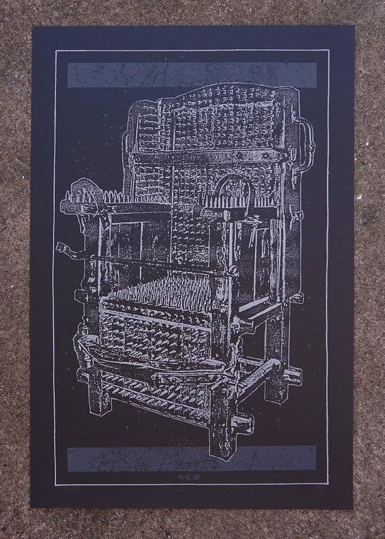 Image of 'mortal throne' print