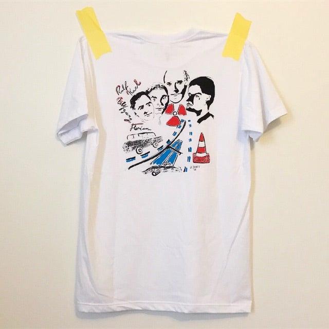Image of jess scott kraftwerk shirt