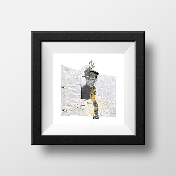 Image of Giclee Collage Art Prints <br>by Daniel Bivins