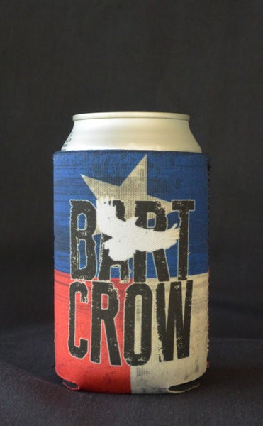 Image of Texas Flag koozie