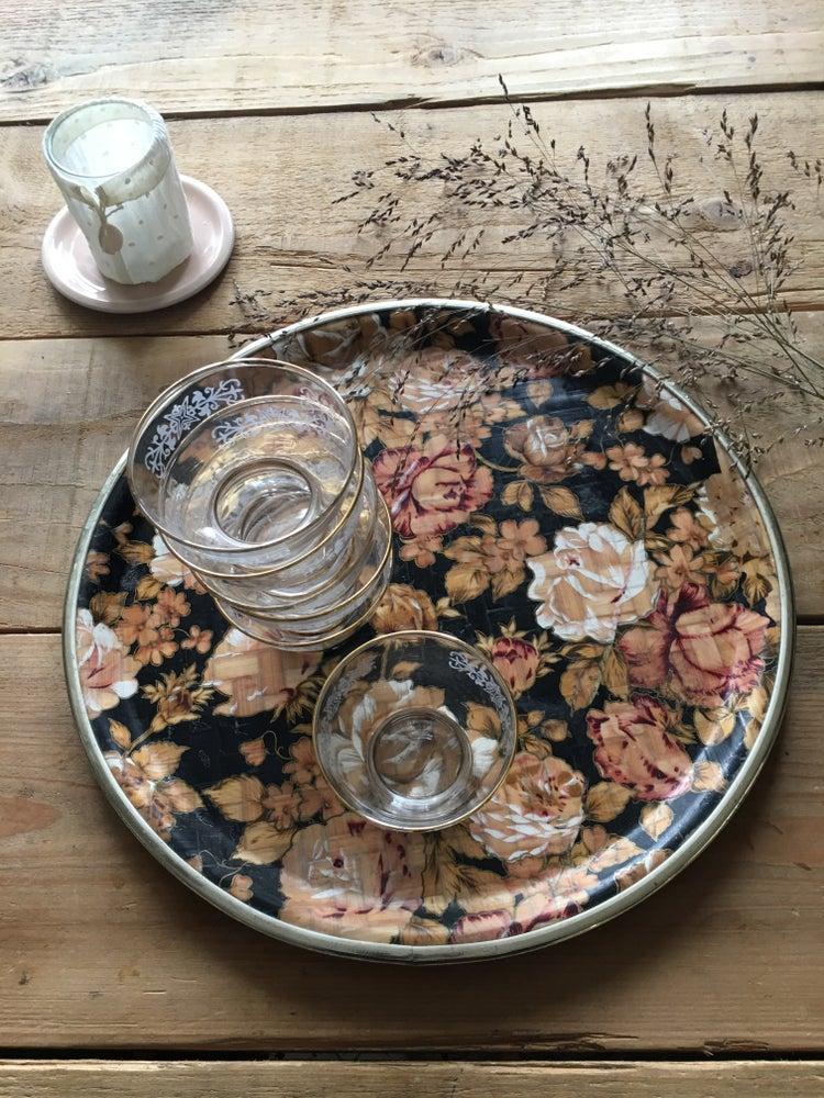 Image of En rose et noir