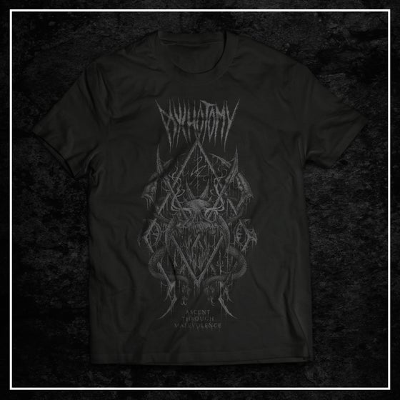 Image of Ascent Through Malevolence t-shirt