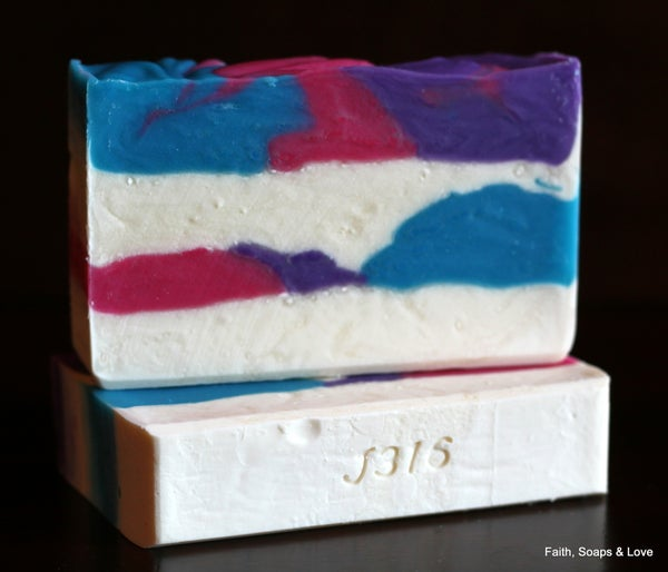 Image of Saved By Grace Handcrafted Soap - Honeysuckle with Jasmine, Rose & Lilac Scented - Made in MN