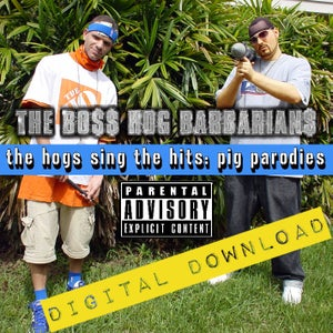 Image of [Digital Download] Boss Hog Barbarians (J-Zone & Celph Titled) - The Hogs Sing The Hits - DGZ-014