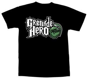Image of Celph Titled Grenade Hero T-Shirt - Black Tee