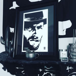 Image of CLINT EASTWOOD 11x17 PRINT