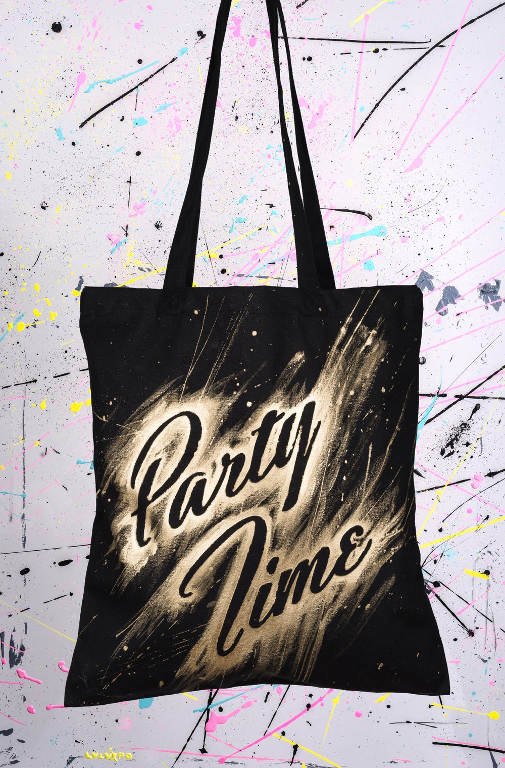 Image of TOTE BAGS SPLATCH ACRYLIC RF11