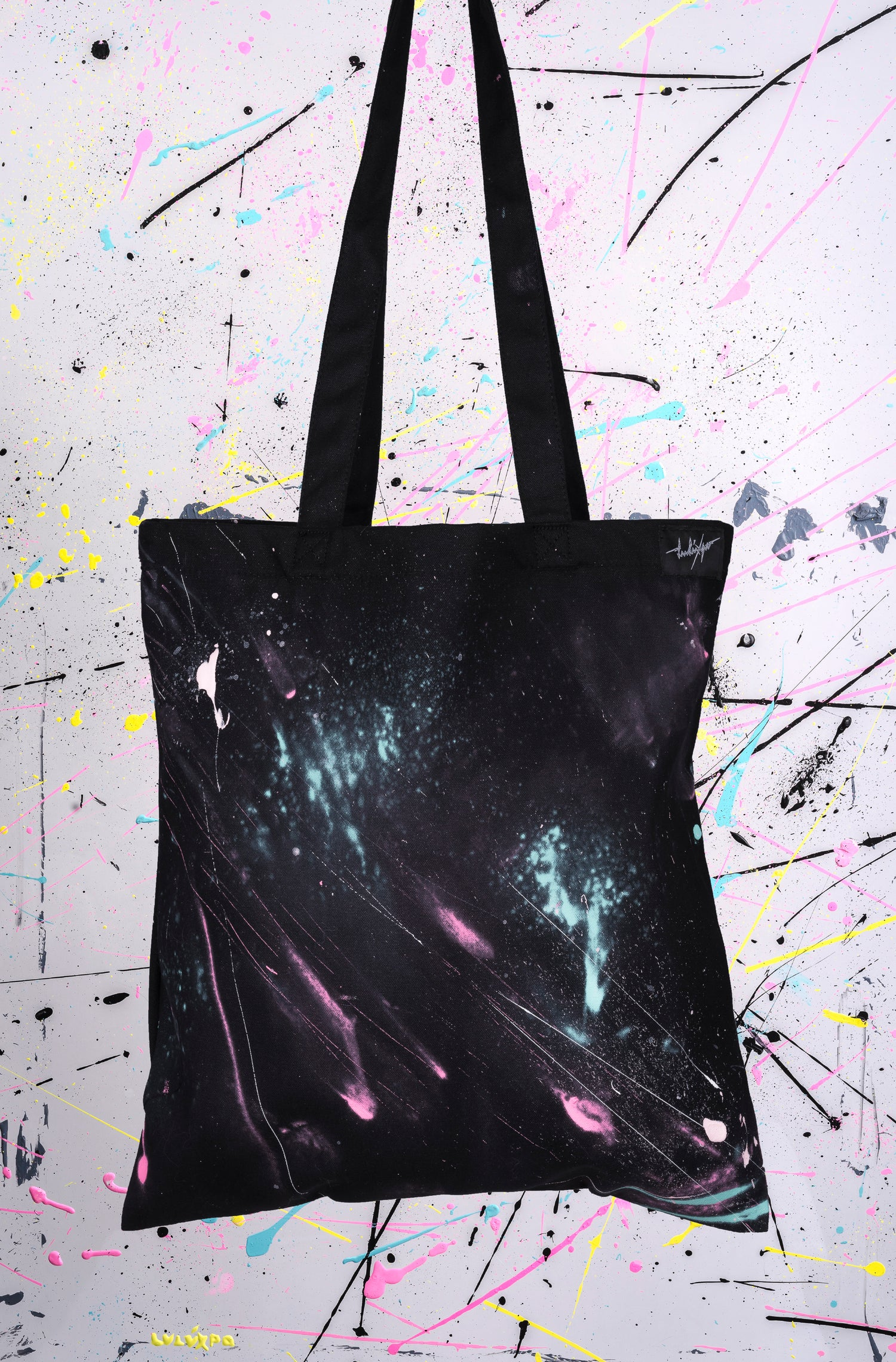 Image of TOTE BAGS SPLATCH ACRYLIC RF12