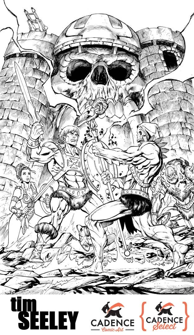 Image of Tim Seeley Commission (Mail Order)