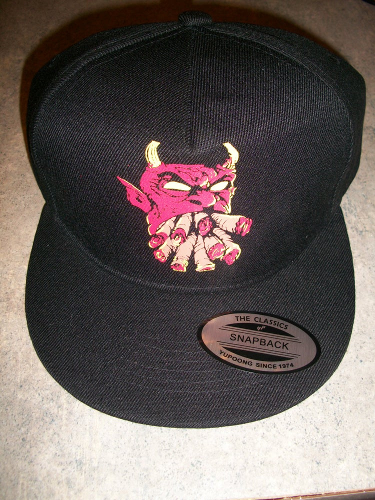 Image of 2 MANY BLUNTS CLOTHING SNAPBACKS (IN STOCK)