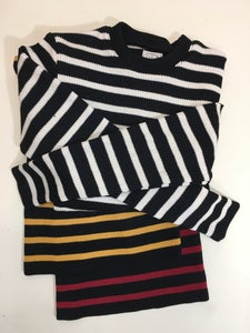 "Image of Motorcycle Sweater 1"" Stripe"