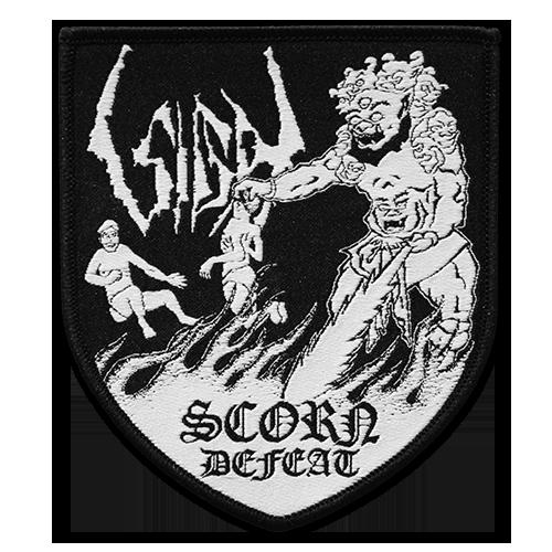 Image of SIGH - Scorn Defeat patch