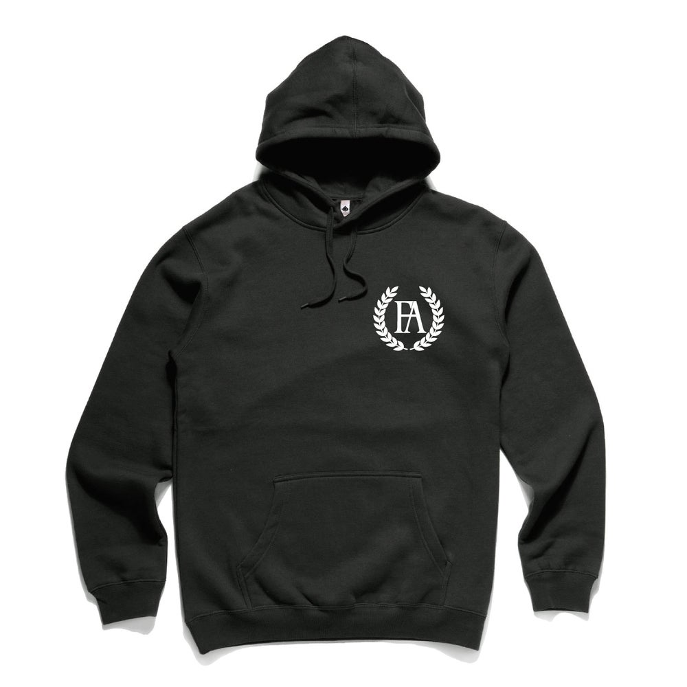 Image of NEAT TOO BLACK HOODED SWEATSHIRT