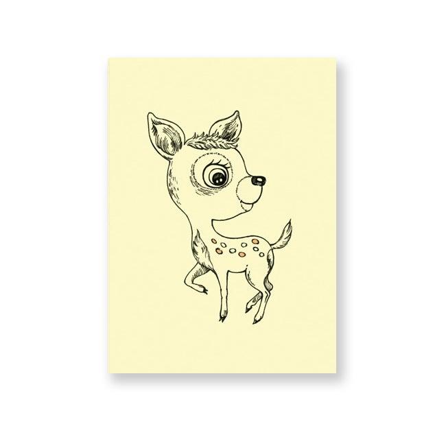 Image of Carte postale bambi