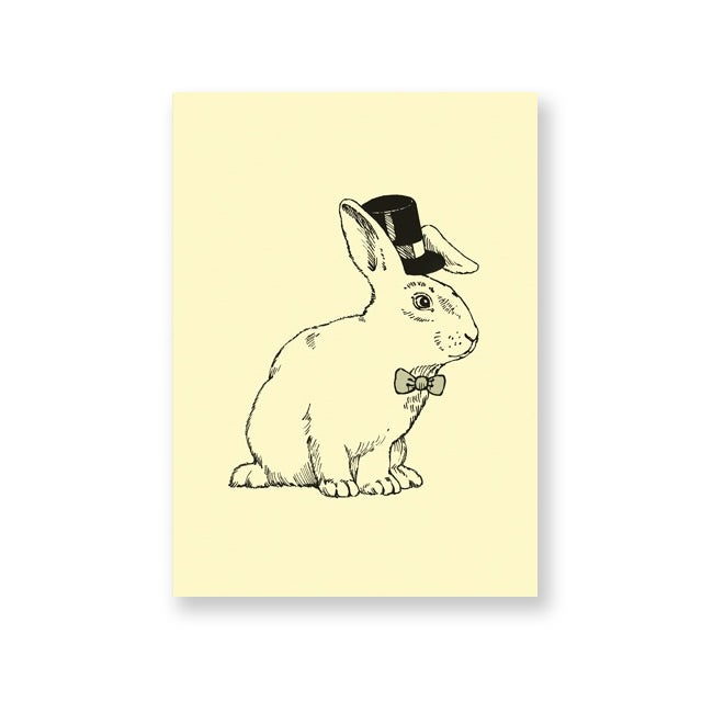 Image of Carte postale Lapin Magicien