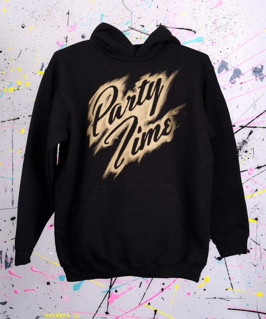 Image of HOODIES PARTY TIME ACRYLIC 2