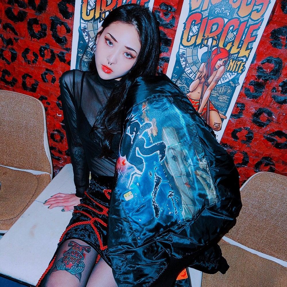 Image of DVMVGE TOKYO X' BR Geisha RX. MA-1 (3 colors)