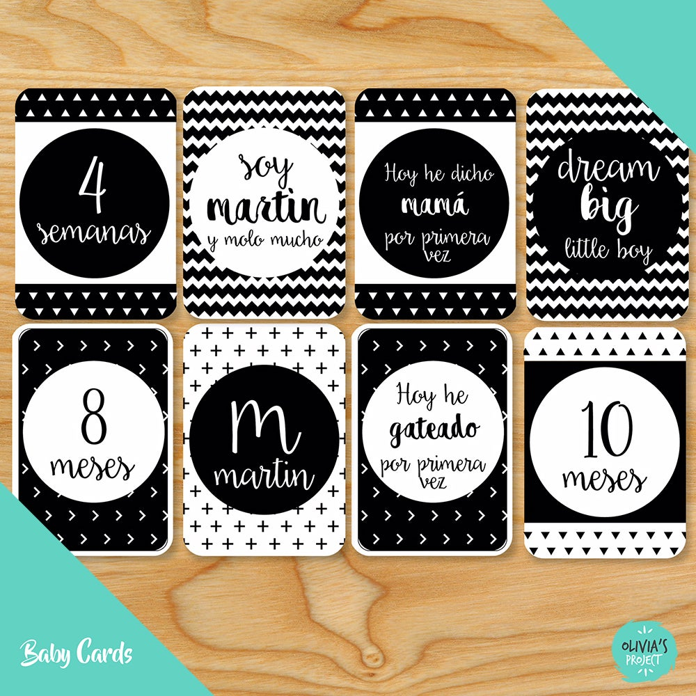 Image of Baby Cards Modelo Dreams (Varios colores)