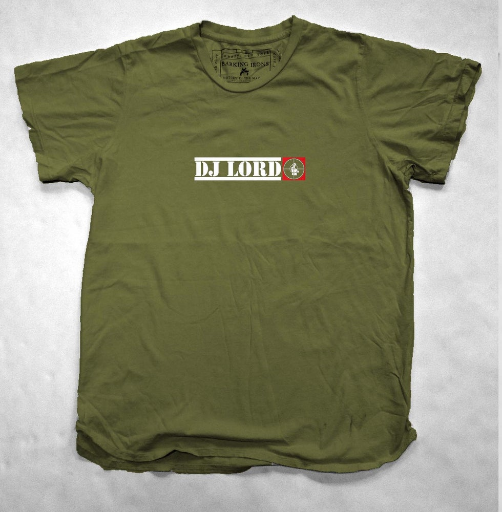 Image of Dj LORD Classic - Military Green Men's Tee