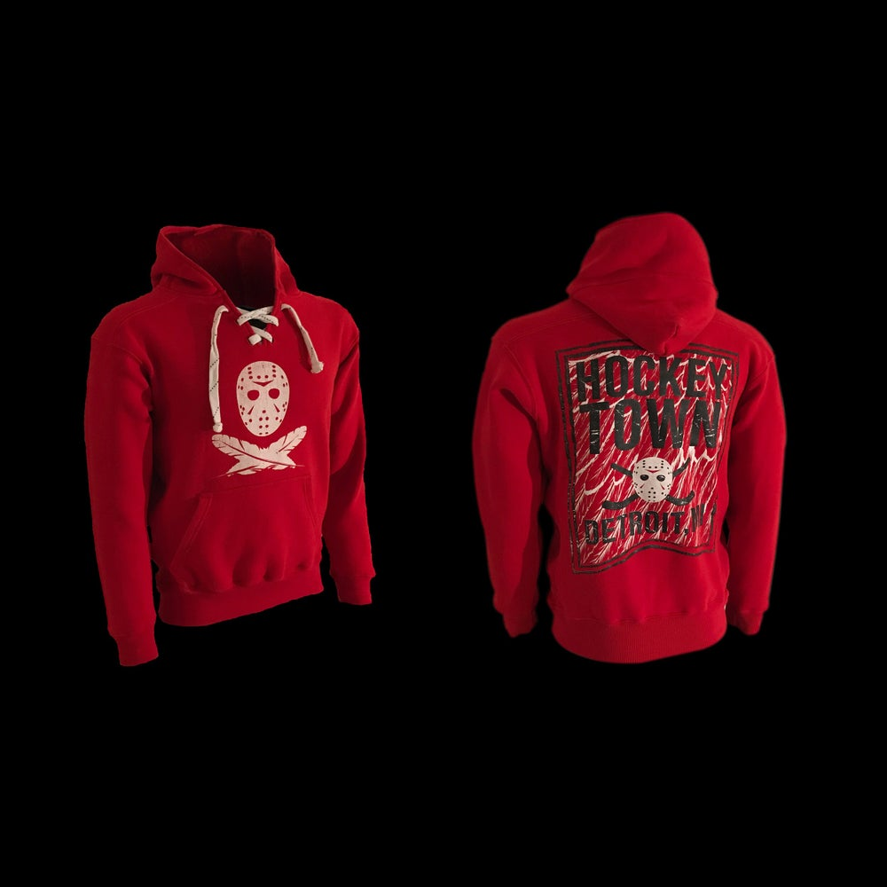 Image of Hockeytown | Hoodie (Red)