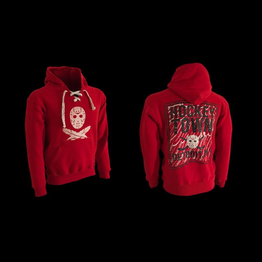 Image of Hockeytown | Hoodie (Red)