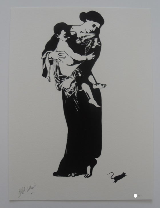 "Image of BLEK LE RAT - MADONNA ""LA MADONE"" - LTD ED 100"