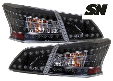 Image of (B17) 13-15 Sentra L.E.D. Smoked Taillights
